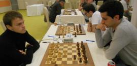 8th round: Rakhmanov secured first place